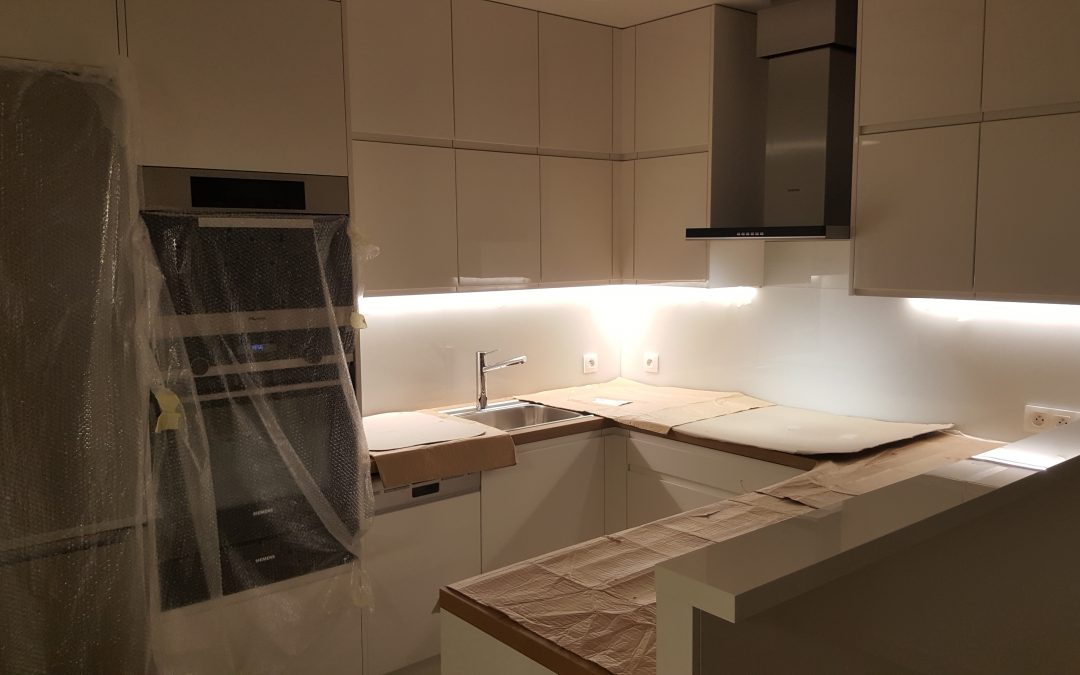 LED osvetlenie kuchynskej linky