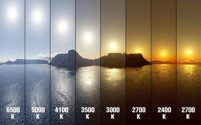 Výber svetelného spektra svetla